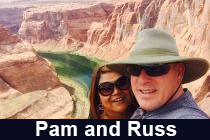 Pam and Russ