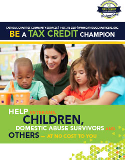 online tax credit handout250x318