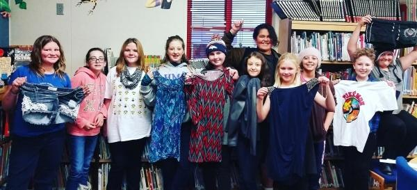 Students Give Back with Clothing Exchange