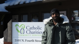 orrin Johns, Catholic Charities homeless outreach specialist