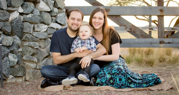 Nathanael, Evan and Shelby Coonrod